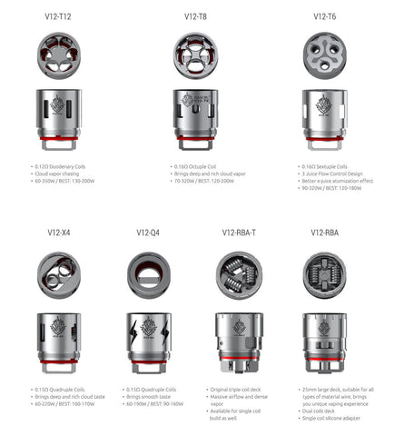 VAPR NZ - Coils - SMOK TFV12 (Cloud Beast KING)