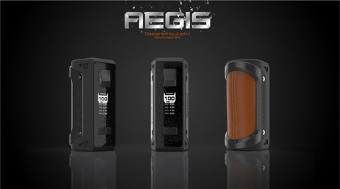 VAPR NZ - Geek Vape Aegis 100W Rugged- Includes 26650 Battery