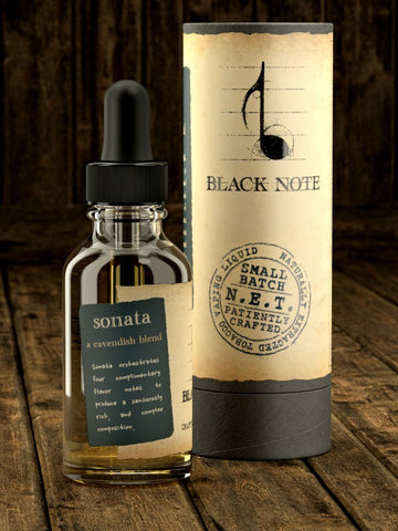 VAPR NZ - Black Note - Sonata (30ml)
