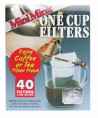 Mini Minit One Cup Coffee Filters - Pack of 40