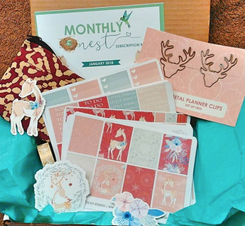 planner box, subscription box, planner subscription