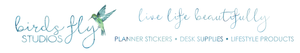Birds Fly Studios | Planner Stickers & Planner Accessories