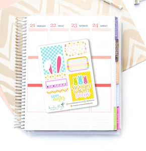 Mini Holiday Planner Stickers For Erin Condren Easter Stickers - Birds Fly Studios Planner Stickers