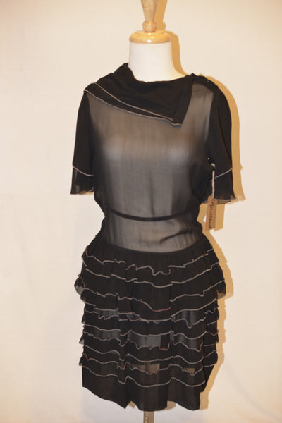 Isabel Marant black Silk Dress size 36