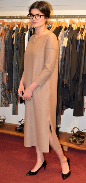 HarrisWharfLondon camel Dress size 40