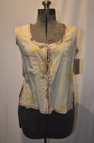 Dries Van Noten yellow Vest size 38