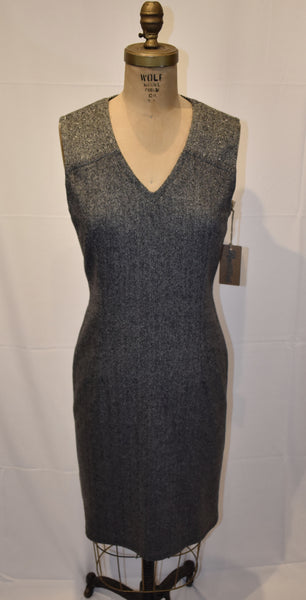 Babette grey houndstooth Dress size Small