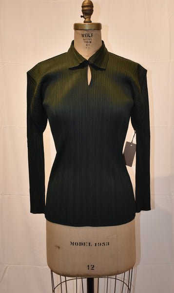 Pleats Please green Blouse size 3