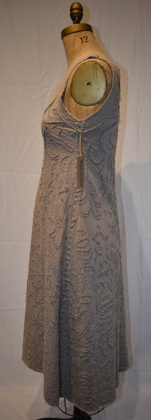 Alabama Chanin beige Dress size Medium