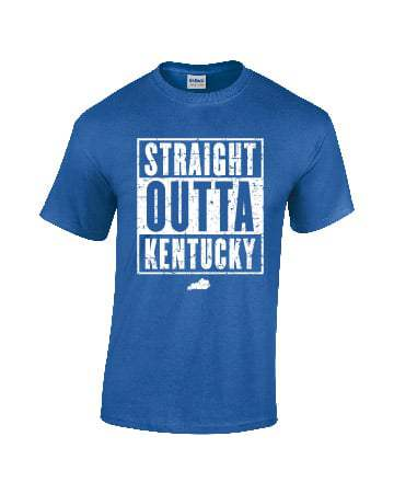 Straight Outta Kentucky Royal Blue