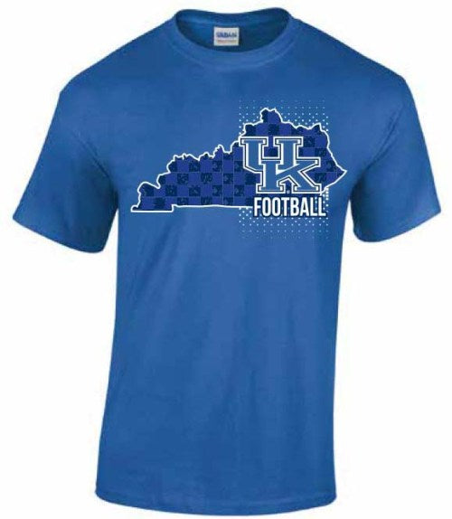 UK Football State Royal Blue