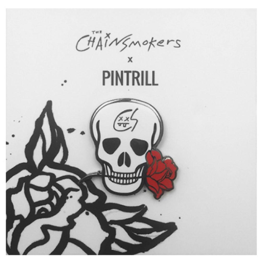 Skull Pin - The Chainsmokers