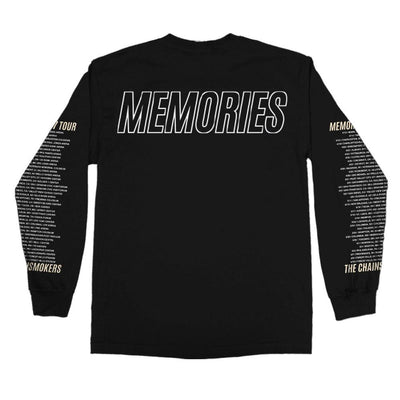 Memories Tour Long Sleeve Tee - The Chainsmokers