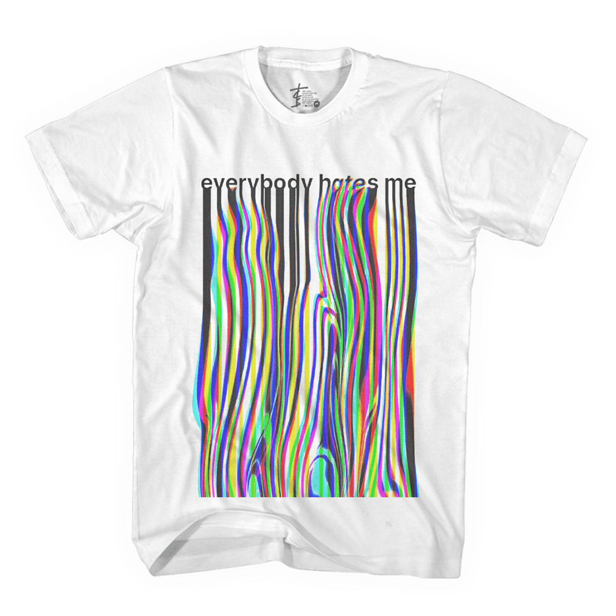 Everybody Hates Me Wave Tee - The Chainsmokers