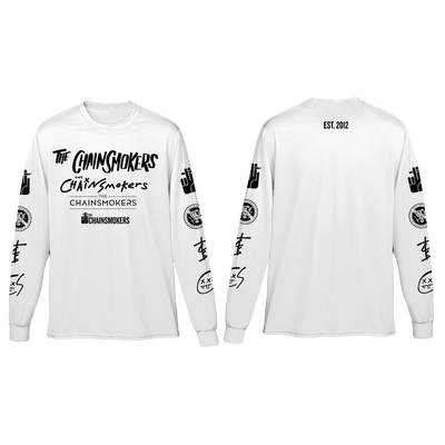 Logo Long Sleeve - The Chainsmokers