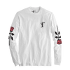 Roses Long Sleeve Tee - White