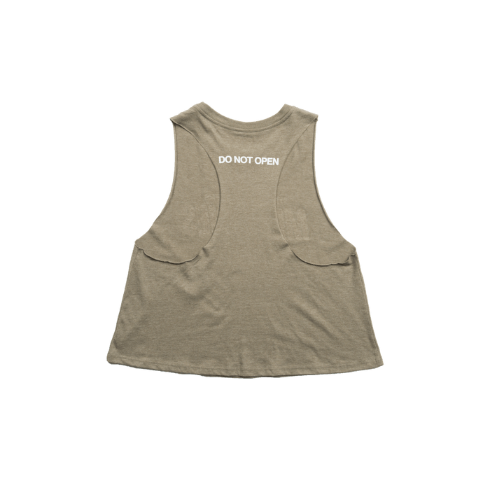 Memories Crop Tank (Olive) - The Chainsmokers