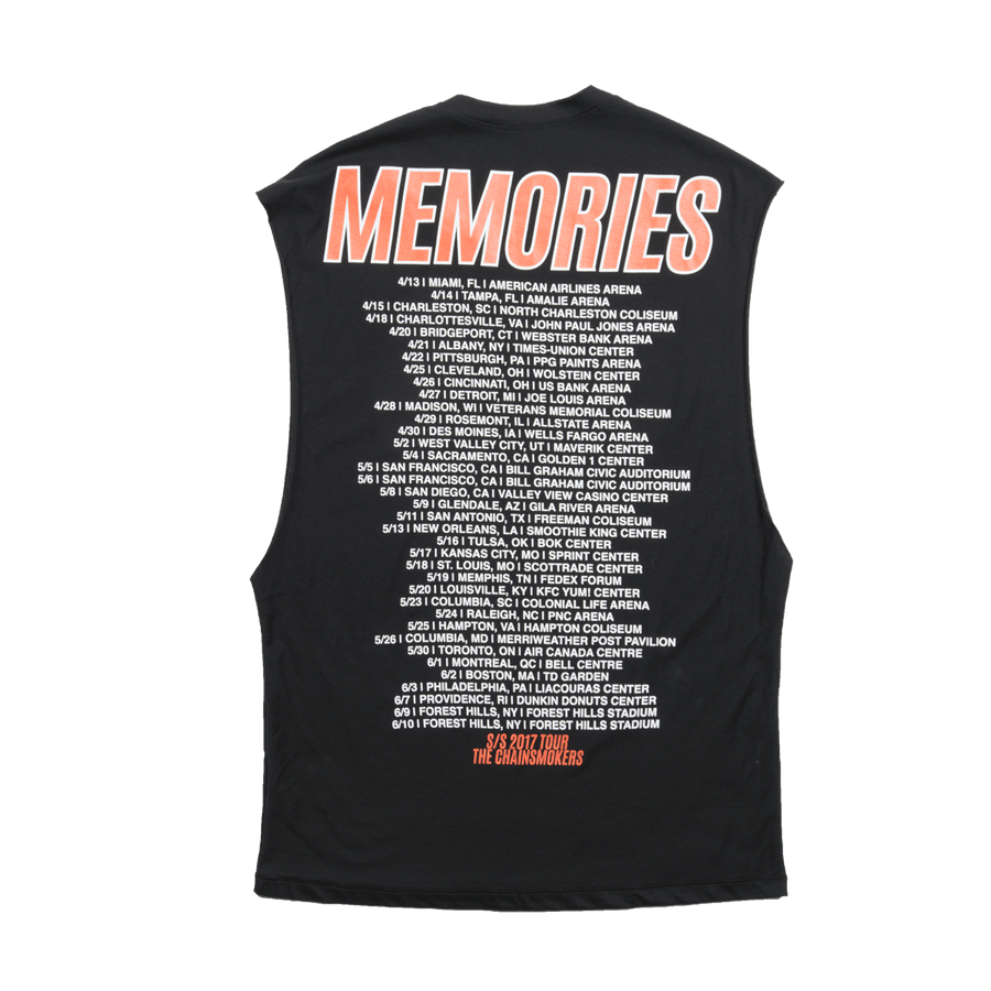 Memories Tour Muscle Tank - The Chainsmokers