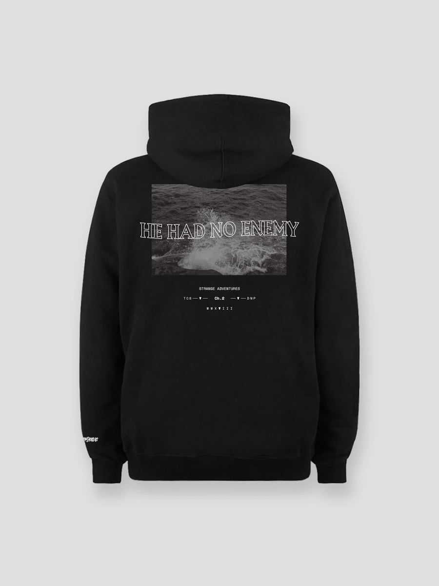 He Had No Enemy Hoodie (Black)