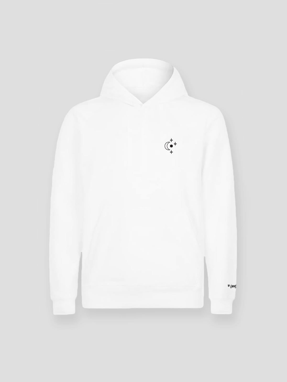He Had No Enemy Hoodie (White) - The Chainsmokers