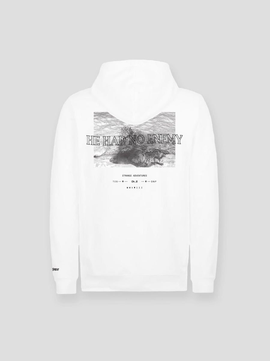 He Had No Enemy Hoodie (White)
