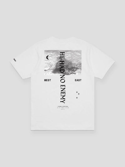 He Had No Enemy Tee (White) - The Chainsmokers