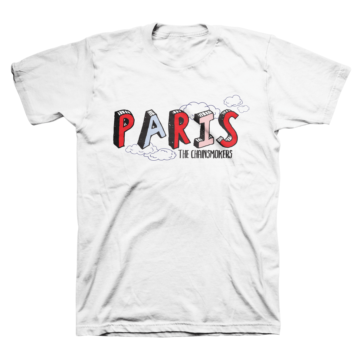 Paris Tee - The Chainsmokers
