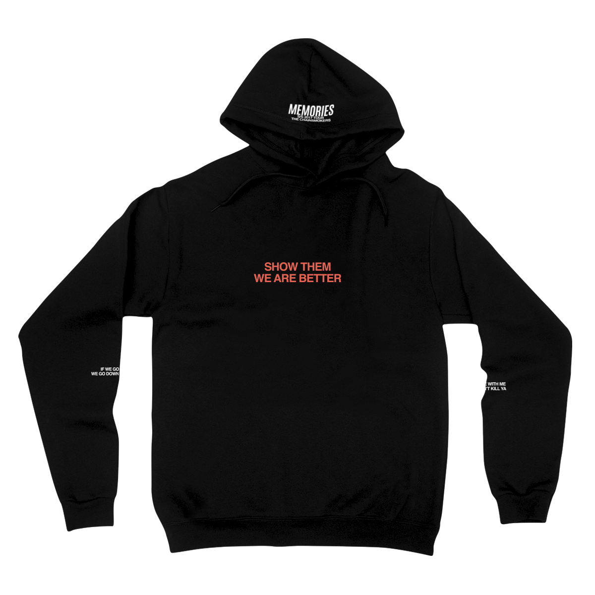 Memories Pullover Hoodie - The Chainsmokers