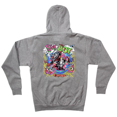 Sick Boy Hoodie (Grey) - The Chainsmokers