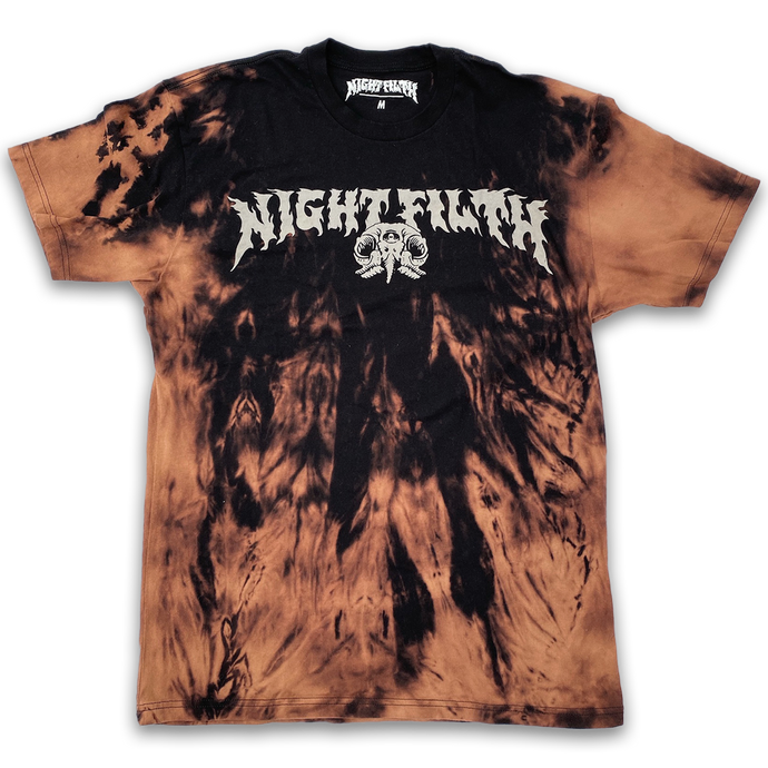 Sh!t Stain Night Filth Logo Tee