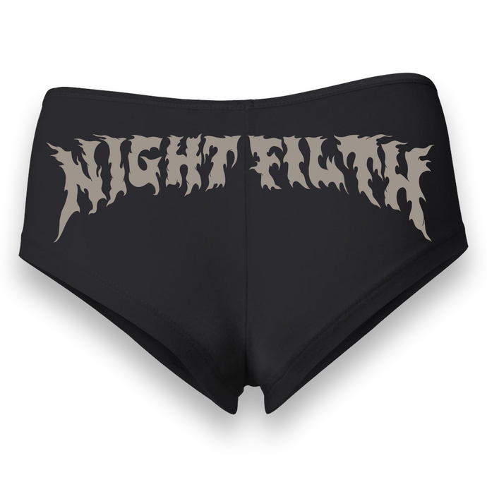 Night Filth Logo Booties