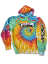 Party Drink Smoke Tie dye Hoodie