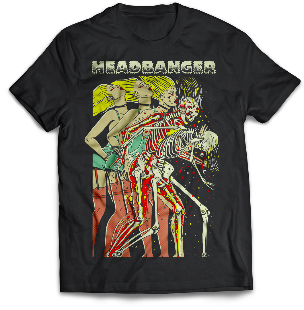 Headbanger Whiplash Graphic Shirt