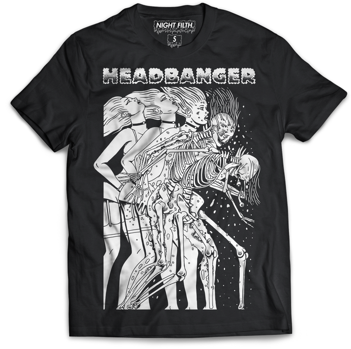 Headbanger Whiplash Tee