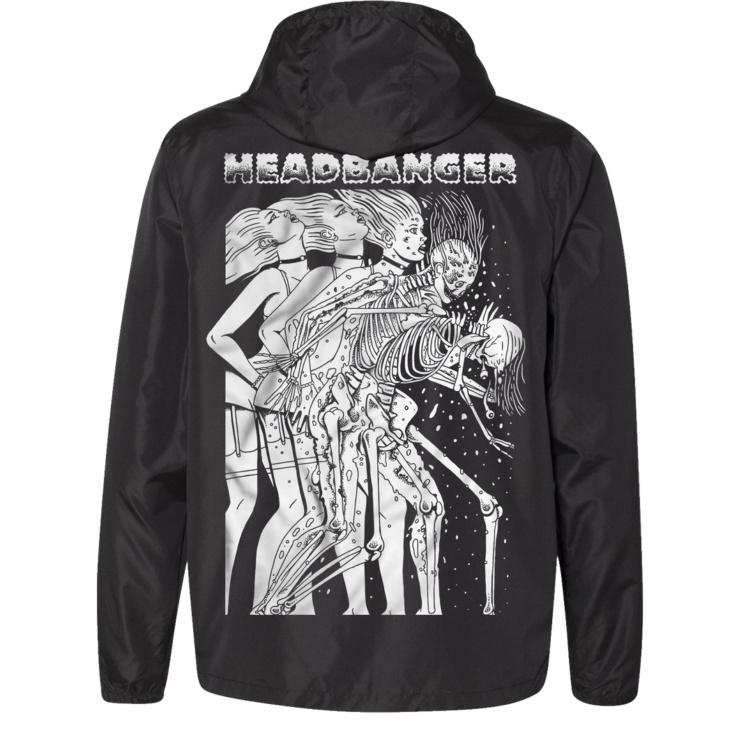 Headbanger Whiplash Windbreaker