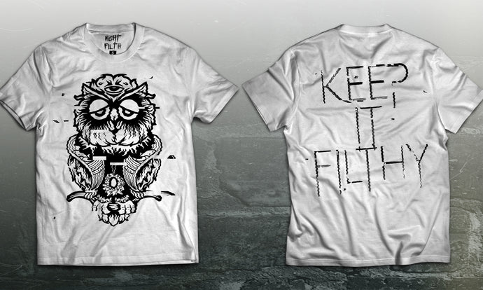 White Keep It Filthy Tee