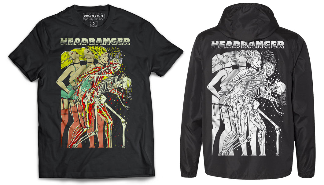 Headbanger Whiplash Bundle (T-Shirt + Windbreaker)