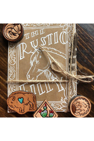 Rustic Filly Magnet Set