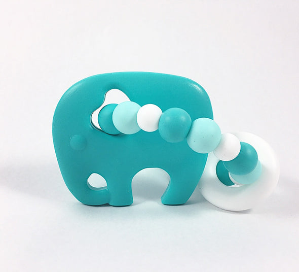 Turquoise ELEPHANT Teether