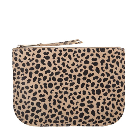 Amy Pouch Large - Cheetah Spot