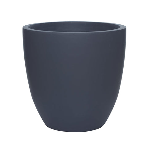 Axel Pot Large - Matte Charcoal