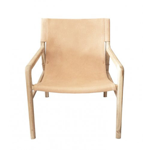 Jasper Sling Chair - Nude
