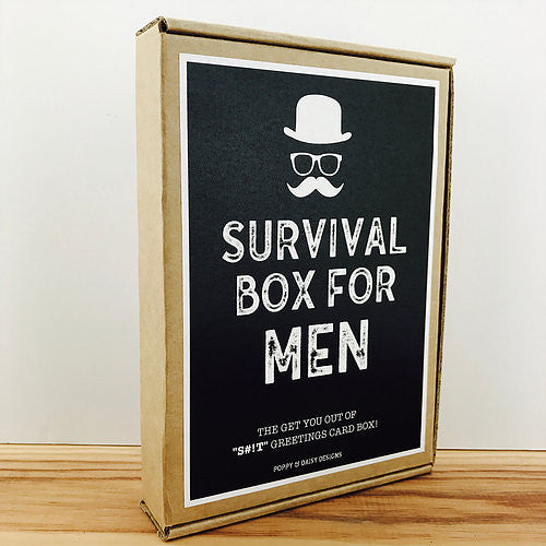 Survival Box For Men