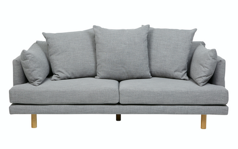Vittoria Iris 3 Seater Sofa - Pavement