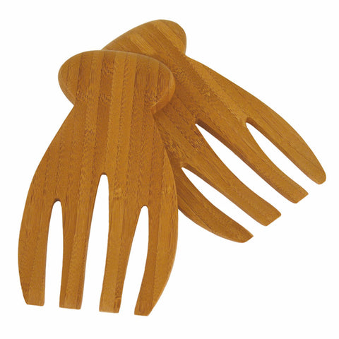 Bamboo Salad Hands Set of 2