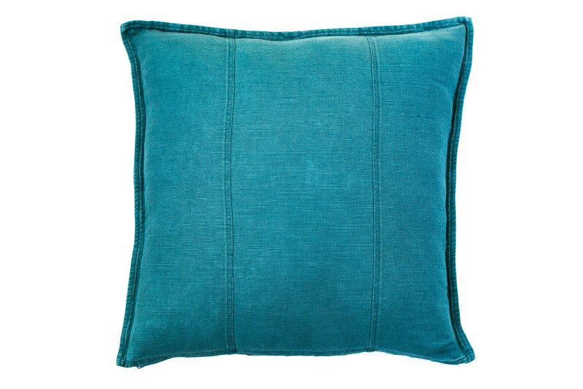 Luca Linen Cushion - Ocean