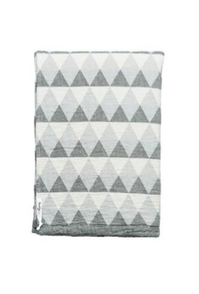 Knotty Oteki Reflect Maxi Throw Charcoal