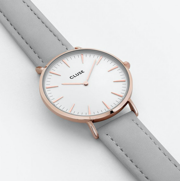La Bohème Rose Gold/White Grey