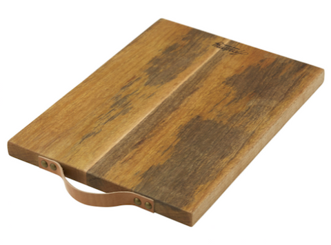 Mango Wood Serving Board with Leather Handle