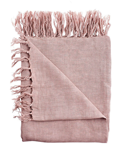 Luca Linen Throw Musk